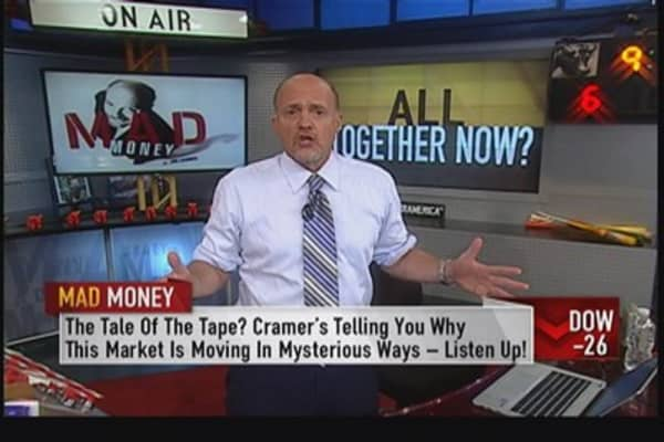 A market gets more expensive as it goes higher: Cramer