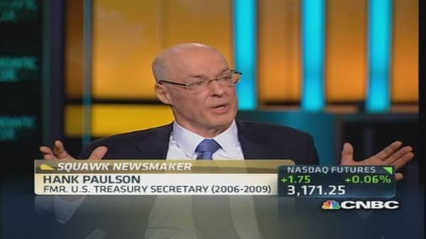 Paulson reveals private battle to save Lehman