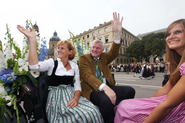 Horst Seehofer;Karin Seehofer