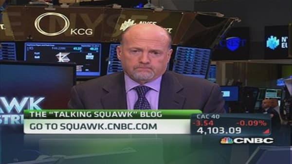 Cramer's stocks to watch: Twitter