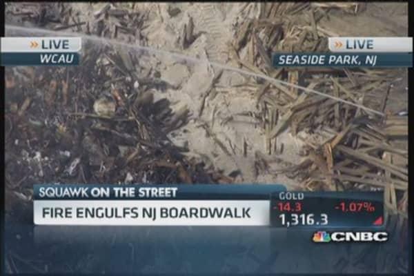 Massive NJ fire wipes out Seaside boardwalk