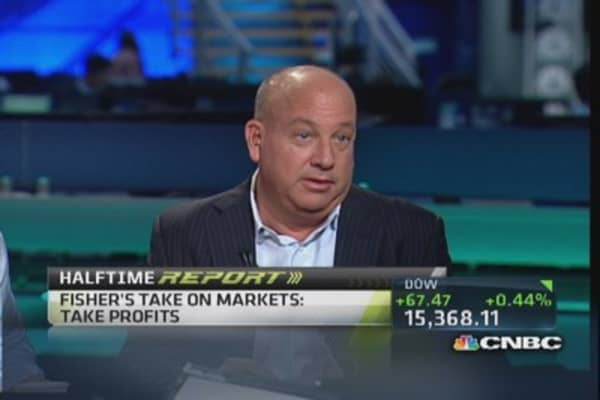 Market 'going to get less good': Mark Fisher