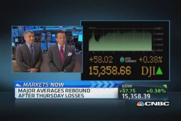 Markets up even as Fed taper looms