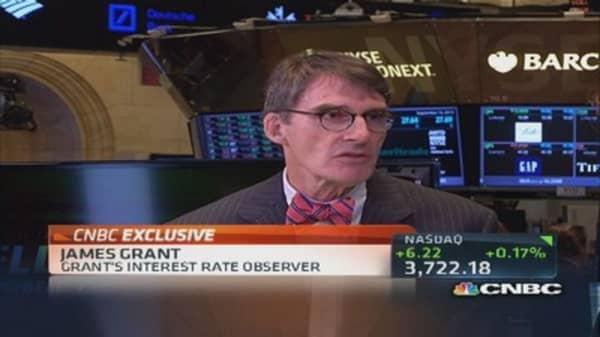 Jim Grant: No Fed taper next week