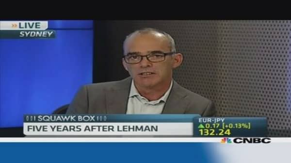 Lessons from Lehman's collapse