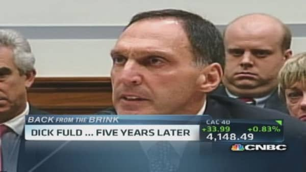 Ex-Lehman CEO Fuld five year later