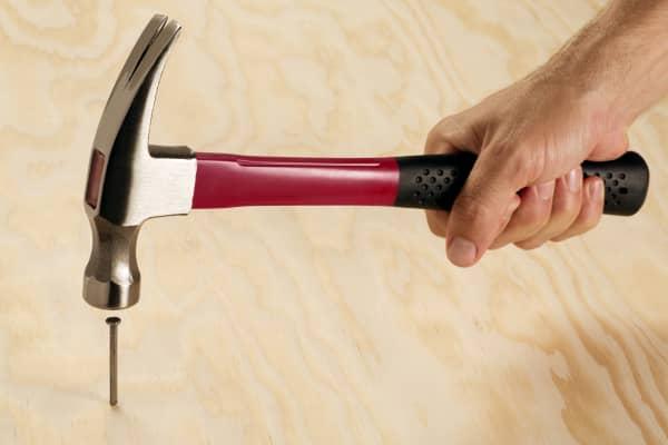 Hammer nail construction
