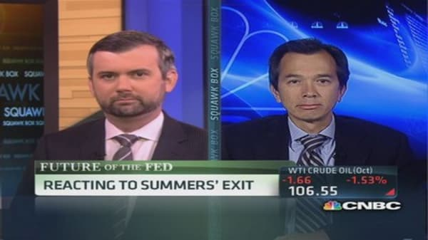 Fed watchers react to Summers' exit