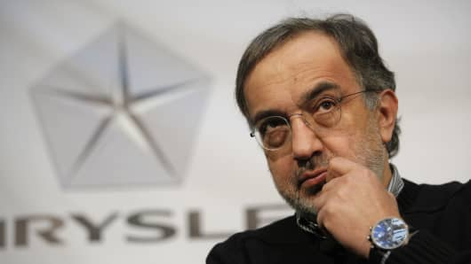 Sergio Marchionne, chairman and CEO , Chrysler Group LLC, and CEO, Fiat S.p.A.