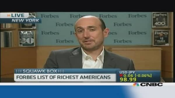 Who are America's richest people?