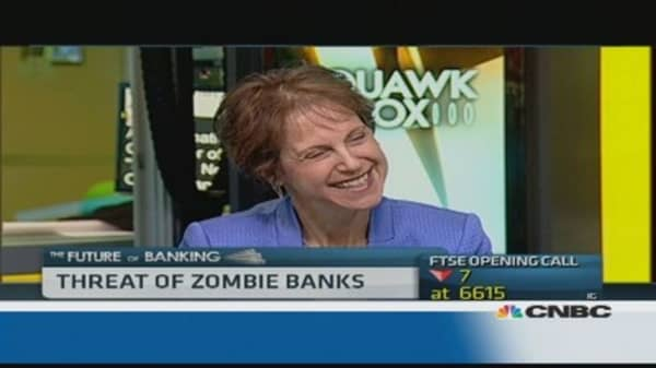 Regulators should unwind 'zombie banks': Expert