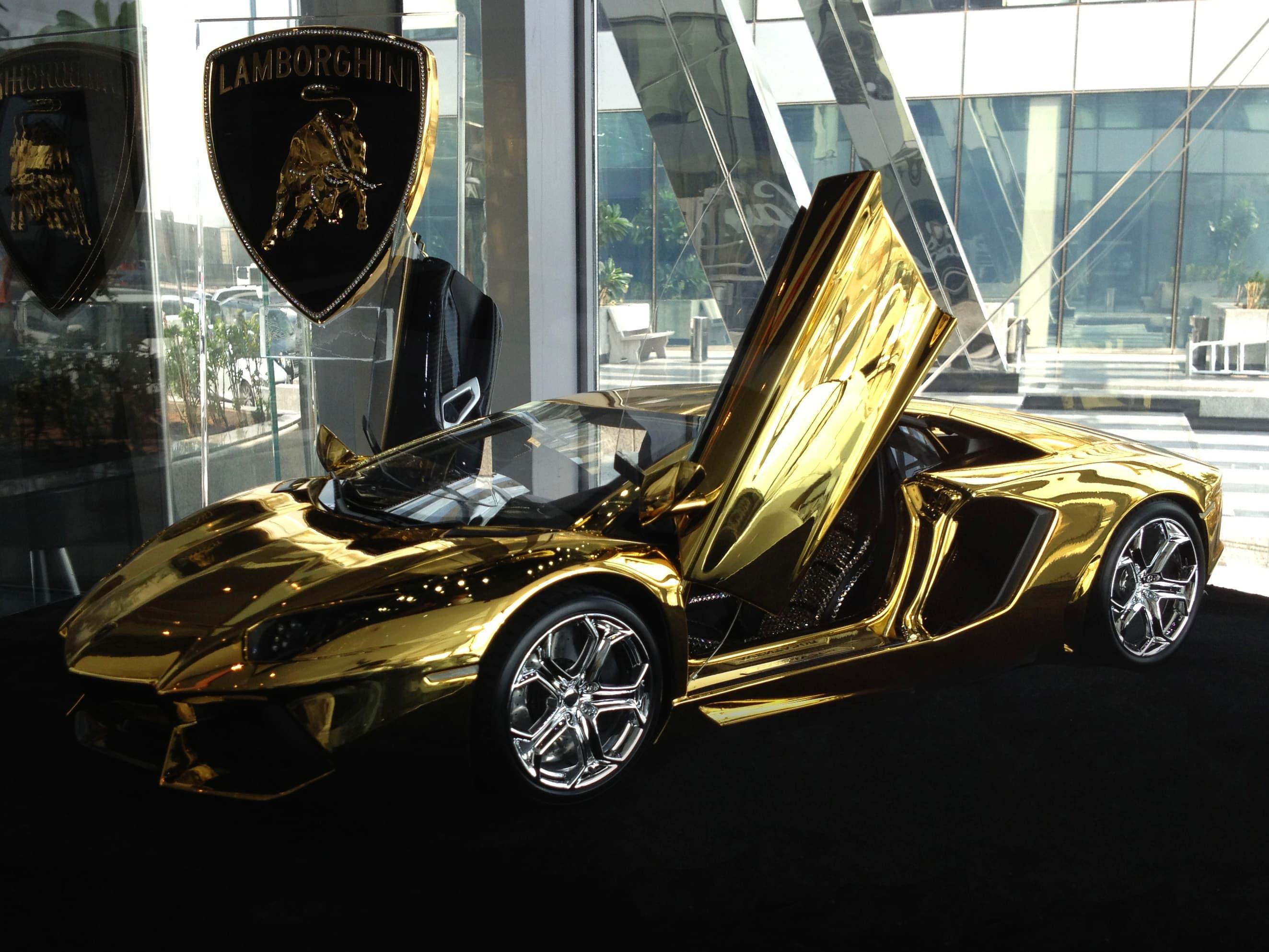 gold lamborghini yours for 7 5 million rh cnbc com