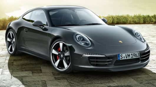 Porsche 911 marks its 50th with special edition.