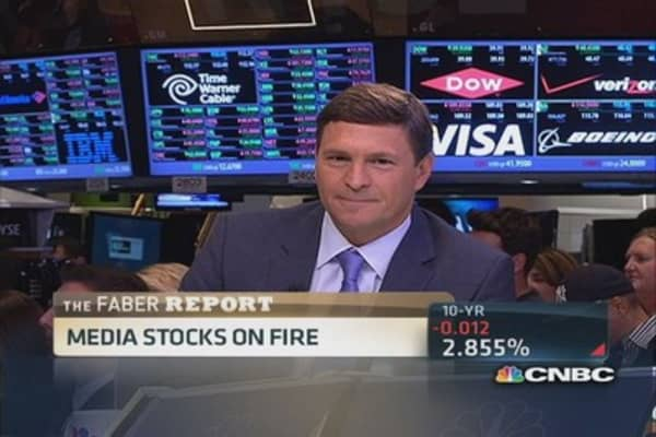 Faber: Media stocks on fire