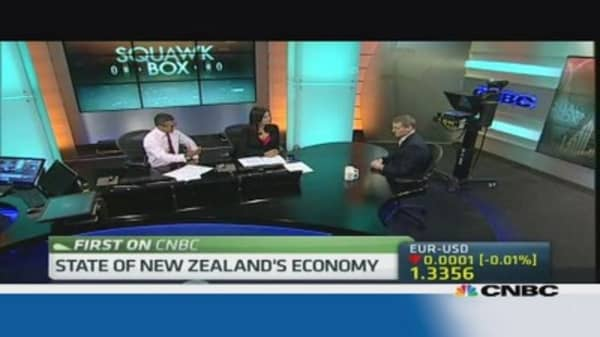 NZ's Deputy PM: Door is open to Chinese investments