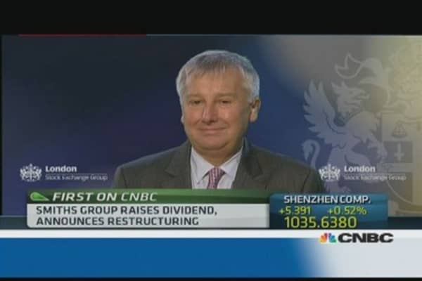 We're much better positioned today: Smiths Group