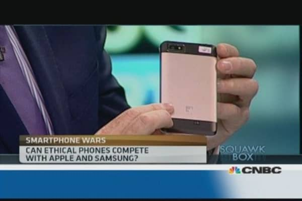 Can ethical phones compete with Apple and Samsung?