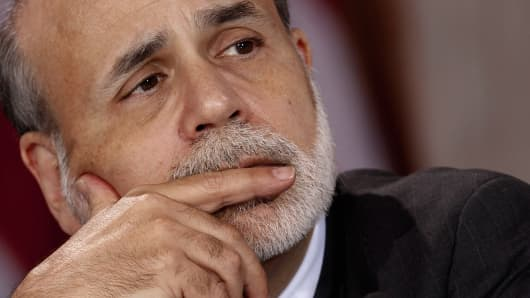 Ben Bernanke, chairman of the Federal Reserve.