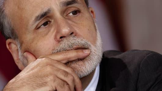 Ben Bernanke, chairman of the Federal Reserve.