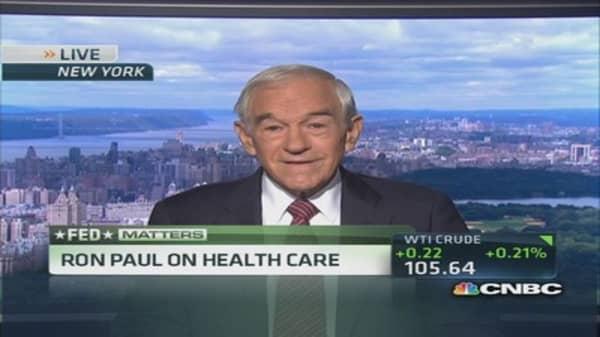 Ron Paul: Yellen likely frontrunner in Fed race
