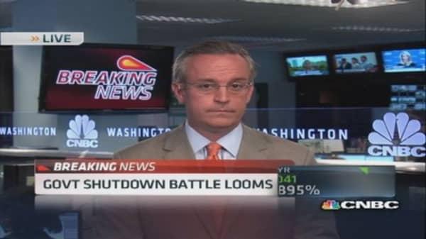 Government shutdown battle looms