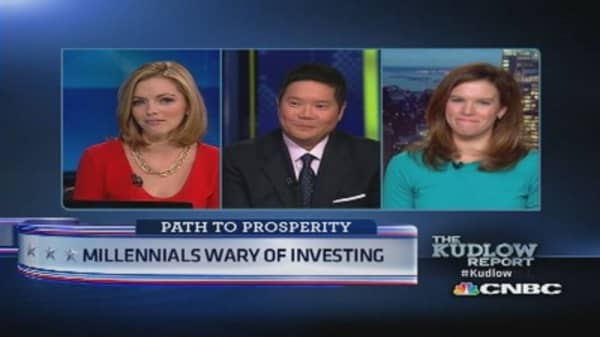 Millennials wary of investing