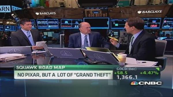 No Pixar, but a lot of 'Grand Theft'
