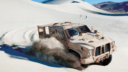 Oshkosh entrant in JLTV bid war
