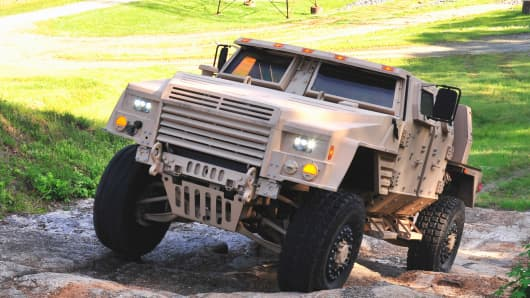 Lockheed Martin entrant in JLTV bid war