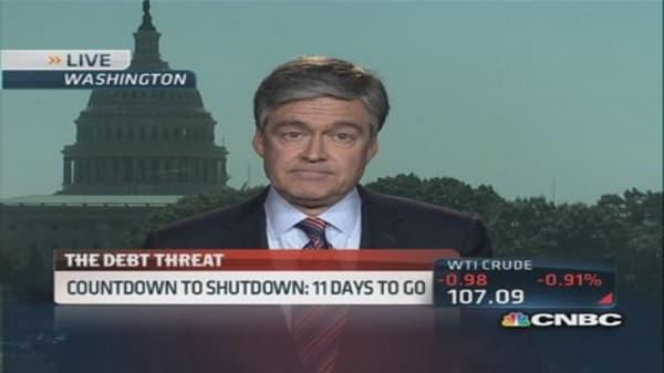 Government shutdown threat looms