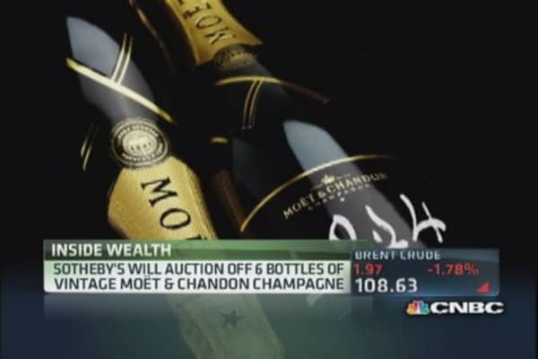 $5k bottle of champagne?