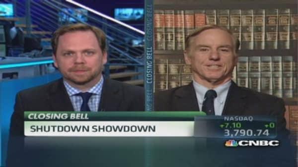 Shutdown showdown