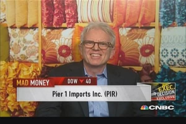 Pier 1 delivers a rare miss