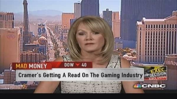 International Game Tech CEO on online gambling
