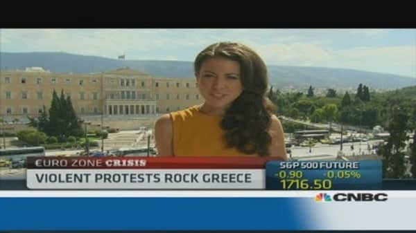 Greece: 'social fabric is fraying'