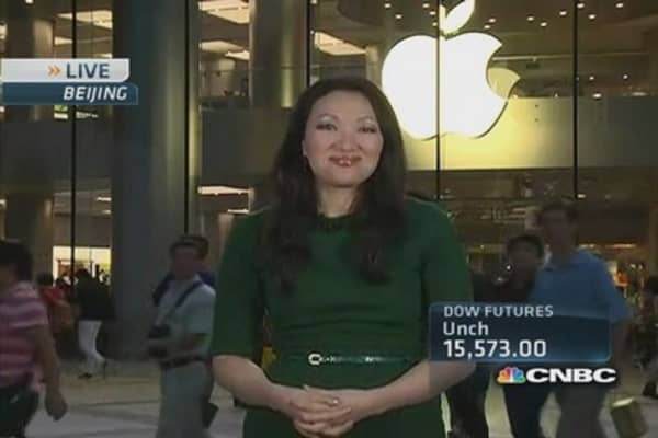 Gold plus Apple equals ultimate Chinese status symbol