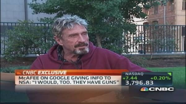 John McAfee speaks out on new technolgoy