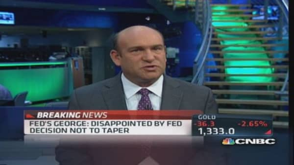 Fed's George: Disappointed by Fed decision not to taper