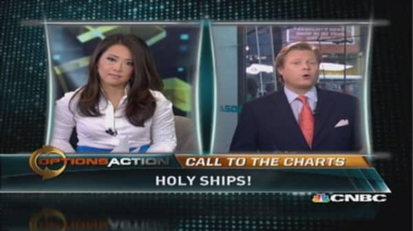 Shipping stocks soar
