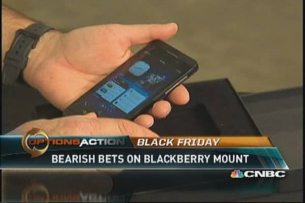 No bid for BlackBerry?