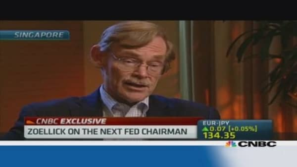 Zoellick : How Fed choice will impact Obama