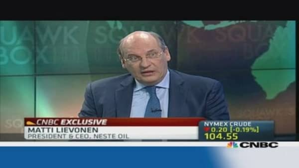 Neste Oil: a lot of capacity remains in Europe
