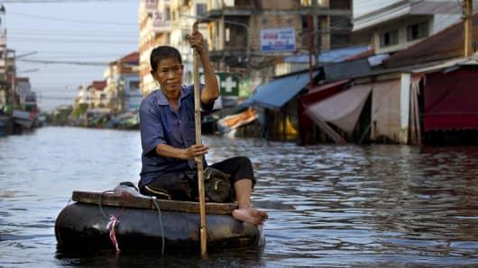 Floods in Bangkok, 2011