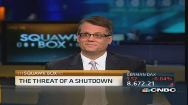 Will debt ceiling debate shutdown government?