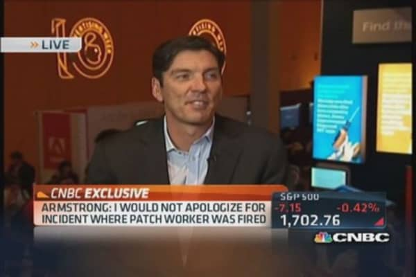 Getting upfront with AOL CEO