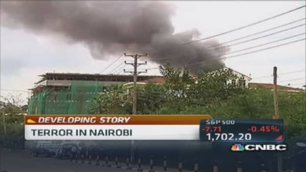 68 dead from siege at upscale mall in Nairobi