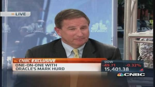 Oracle's Hurd: Cloud growth was significant in last quarter