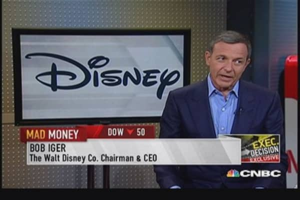 Iger CEO: We are not going to hoard cash