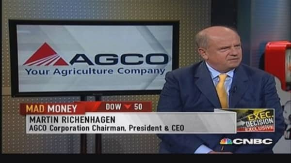 AGCO CEO: Putin likes that I'm not American