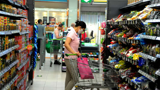 China CPI gains in May but underlying pressures limited